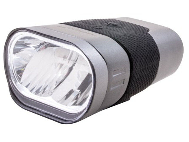 spanninga Axendo 60 Rechargeable Front Light StVZO, silver